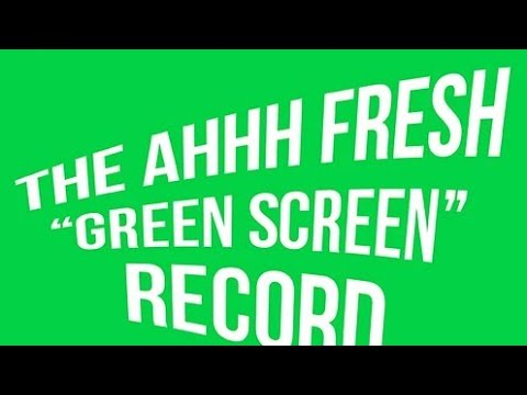 """7"""" The Ahhh Fresh Green Screen Record Sound Review"""