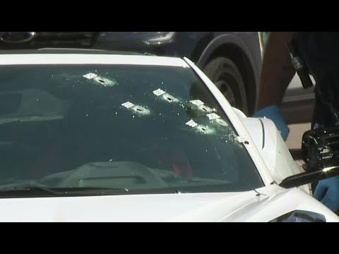 1 killed in northwest Houston drive-by shooting that left car riddled with bullets