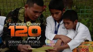 the philippine army reaching out to the filipino people