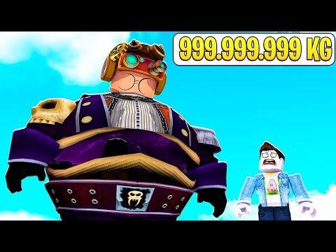 SONO ARRIVATO A PESARE 999.999.999 KG SU ROBLOX!!!