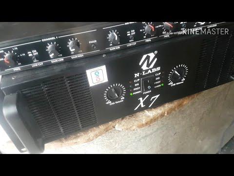 7000 Watt Amplifier N Lanbs PowerFull Amplifier