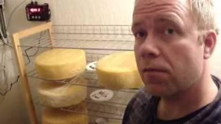 freaky cheap walk in fridge - cheese cave