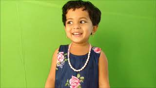 Cute Girl Saying ABC to Z & 1 to 10 Super-fast SPEED