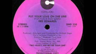 Dee Edwards - Put Your Love On The Line [Paradise Garage] 1980 Disco