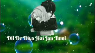 whatsup status rukh zindagi ne mod liya kaise dil de diya hai unplugged  by lyrics and video