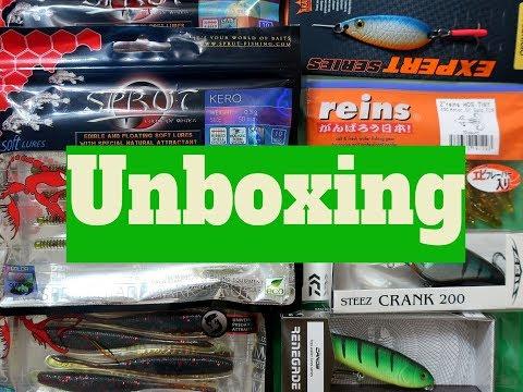 Распаковка посылки с интересными приманками из интернет-магазина Spinningline