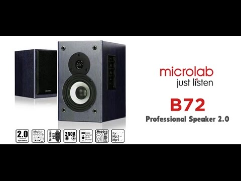 Unboxing Monitores de Audio Microlab B72