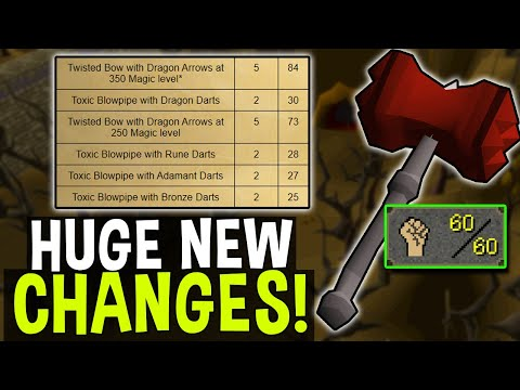Big Fundamental Changes are Coming to OSRS! Weekly Recap 4/22/2021 [OSRS]  