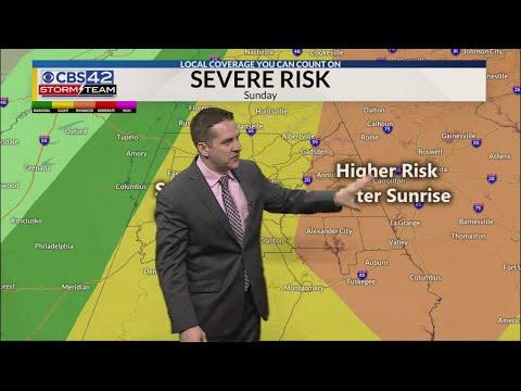 April 12th Weather Forecast - Alabama Alerts ⋆ NewsTVChannel com