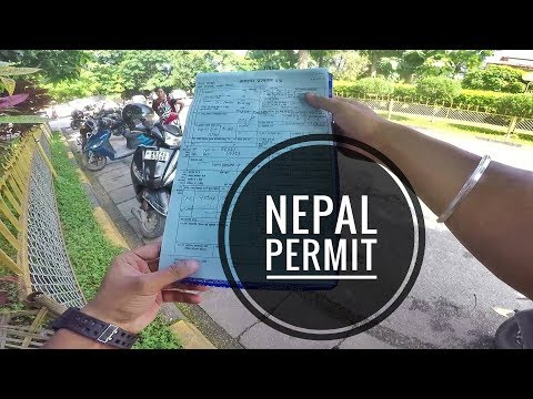 HOW TO GET PERMIT FOR NEPAL - BHANSAR : Crossing Indian Border