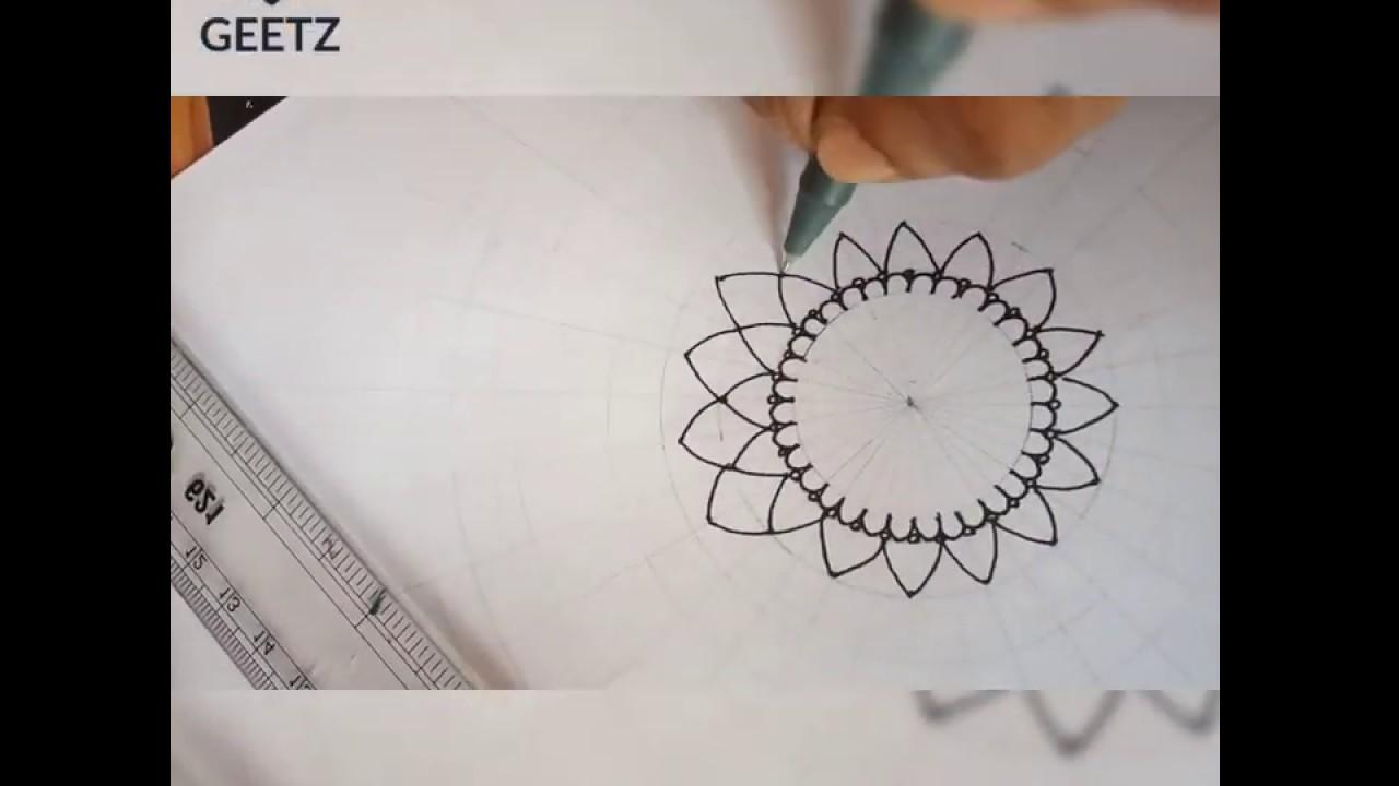 Mandala Art by Geetha Dinkar