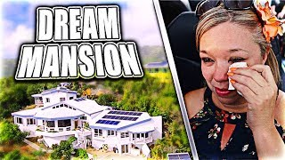SURPRISING MOM WITH HER DREAM MANSION!!
