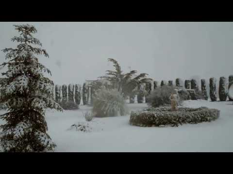Murcia snow - Spain 19th January 2017 at 2pm
