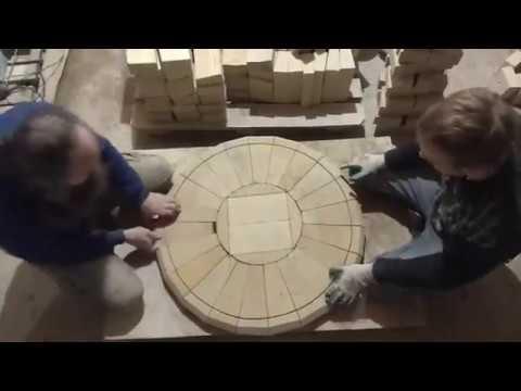 Тандыр своими руками ускоренное видео