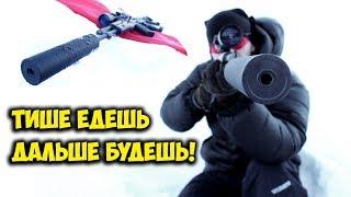 Глушитель для АК! Для охотников и других гражданских стрелков!