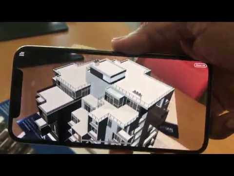 Apartment Building Augmented Reality - Example