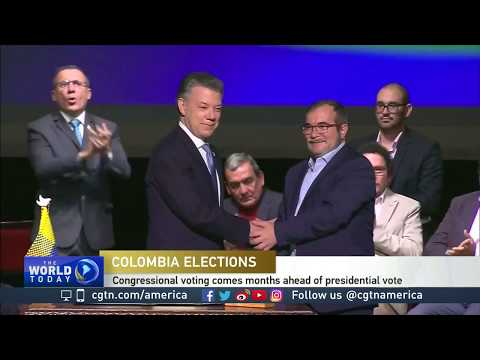 FARC hopes to win big in Colombian congressional elections