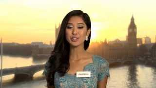 INDONESIA, Maria Sastrayu Rahajeng - Contestant Profile : Miss World 2014