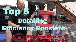 5 Best Detailing Efficiency Boosters