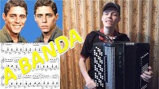 A Banda - Chico Buarque (из м/ф Ну, погоди!) разбор на баяне. Урок#102