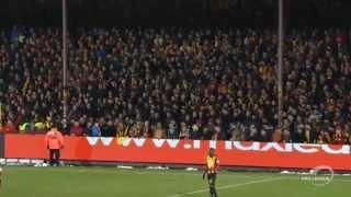 kv mechelen supporters verstoren match tegen lokeren sk met gefluit 2015