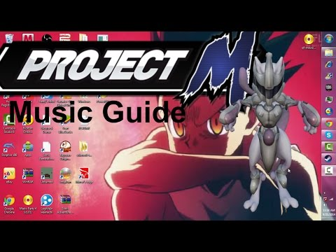 How to put custom music on project m (Also works for 3.5)