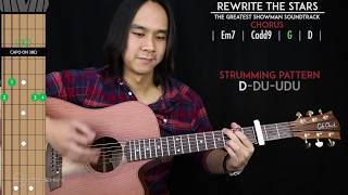 Rewrite The Stars Guitar Cover Acoustic - James Arthur Anne Marie 🎸 |Tabs + Chords| Video
