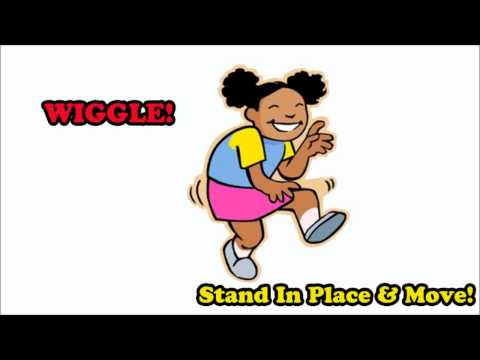 Stand In Place And Move - by Mark D. Pencil (fun brain break/classroom exercise!)