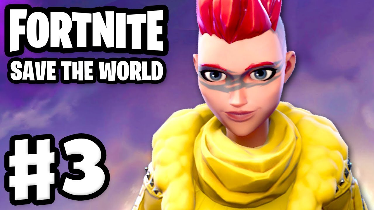 Fortnite: Save the World - Gameplay Walkthrough Part 3 - Gimme Three!  Retrieve the Data! (PC)
