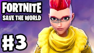 Fortnite: Save the World - Gameplay Walkthrough Part 3 - Gimme Three! Retrieve the Data! (PC)