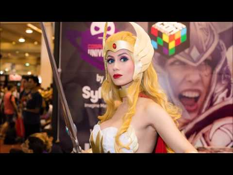 she ra cosplay  sc 1 st  YouTube & she ra cosplay - YouTube