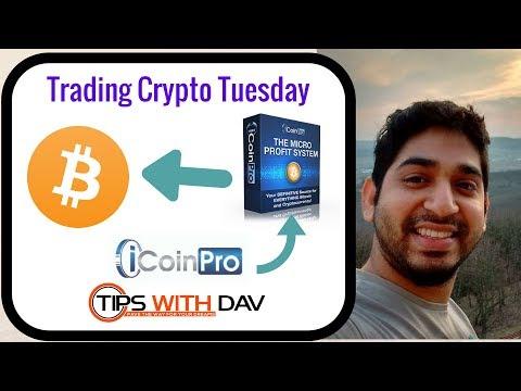 Trade Crypto Tuesdays I iCoinPro results
