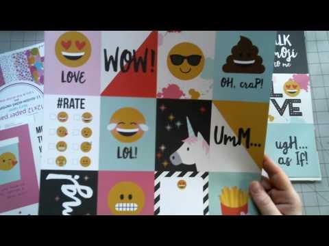 Paper Peek Simple Stories Emoji