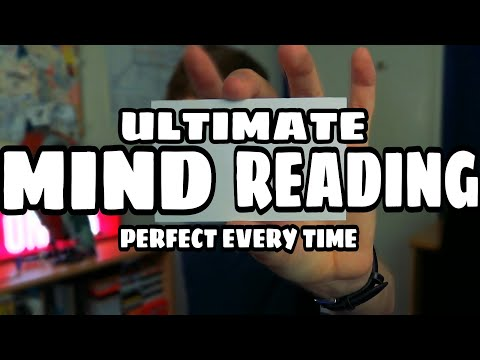 The PERFECT Mind Reading Trick! - Tutorial