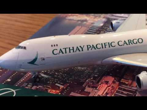 Phoenix models Cathay Pacific cargo 747-8F review