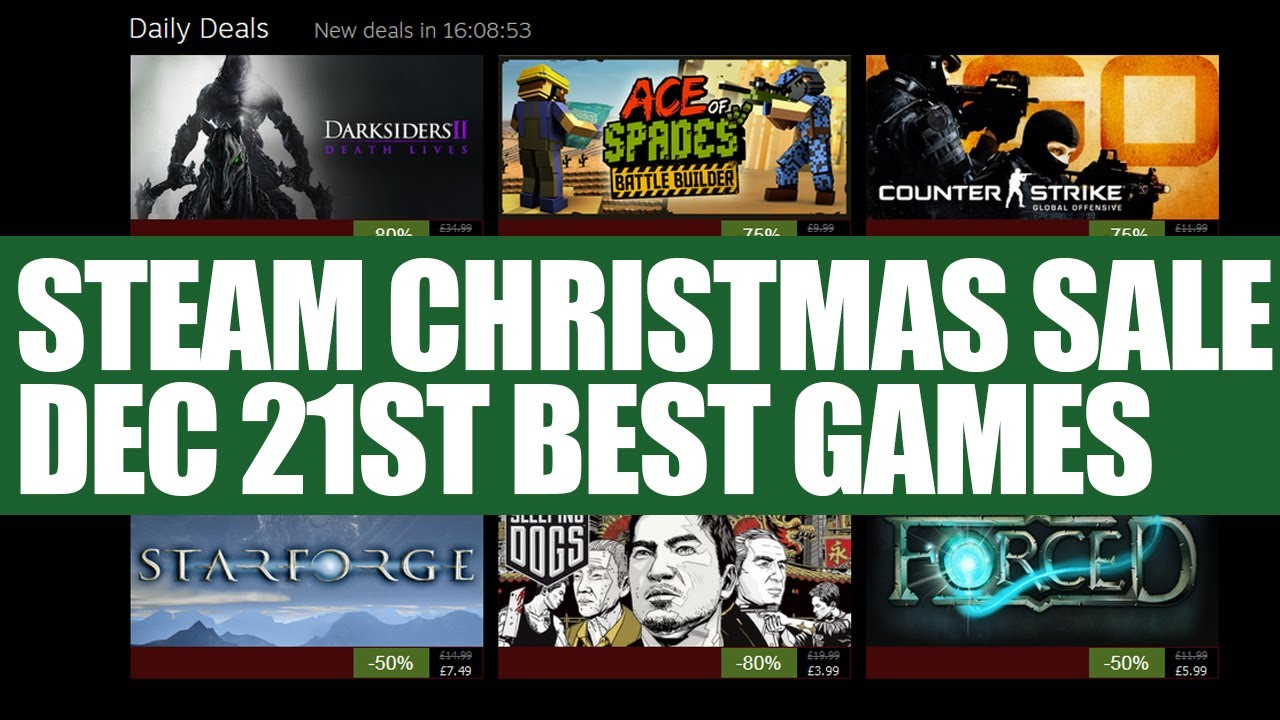 Steam Christmas Sale 21st December - KOTOR 2, Sleeping Dogs, CSGO ...
