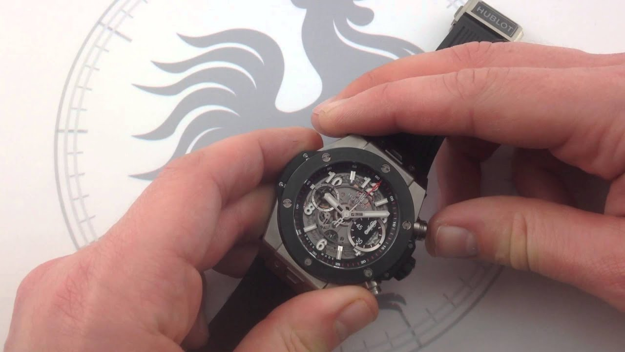 Hublot Big Bang Unico Titanium Ceramic Luxury Watch Review