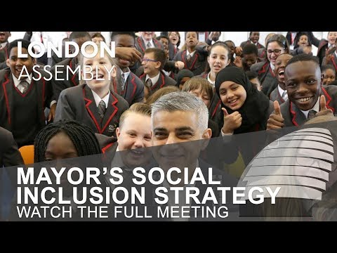 Mayor's Social Inclusion Strategy