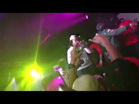 Young M.A OOOUUU live performance at centro night...