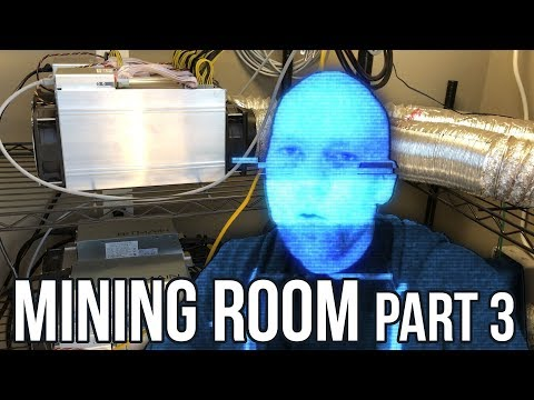 Mining Farm Update #3 - Antminer S9 Bitcoin Miner,  Litecoin L3+ And Ethereum Too