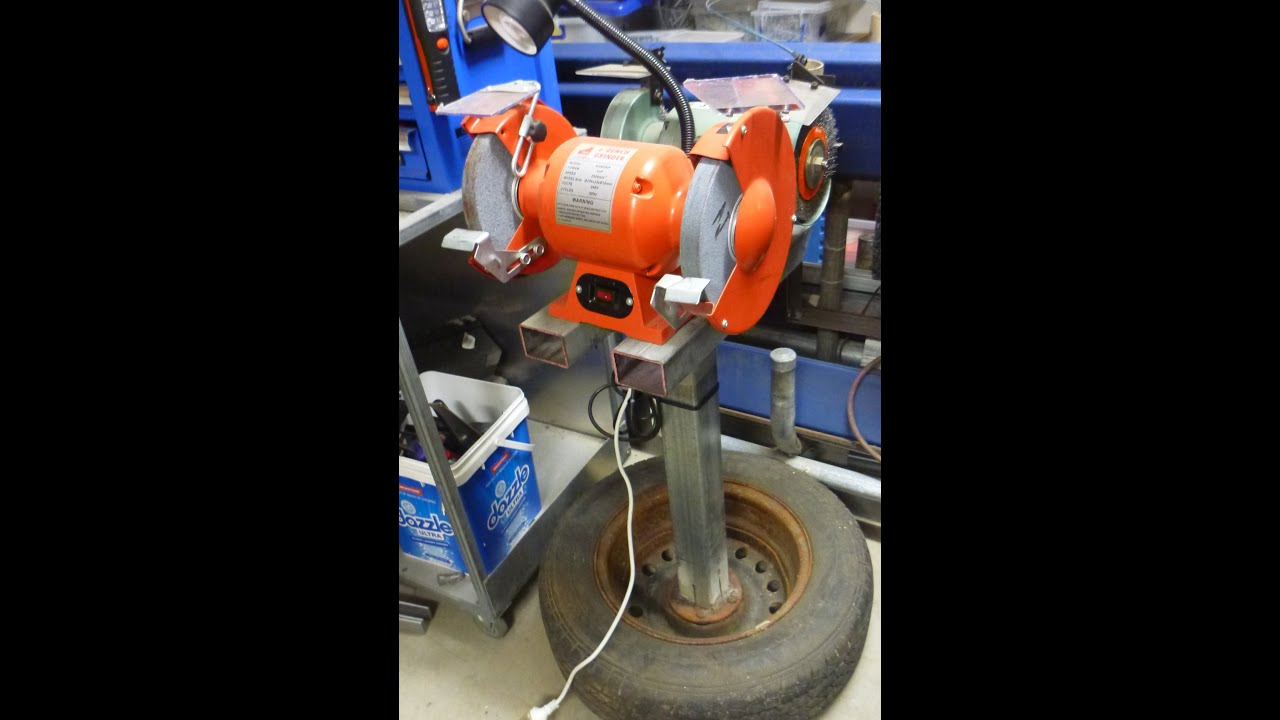 Homemade Bench Grinder Part - 28: Free Homemade Bench Grinder Stand Save Money