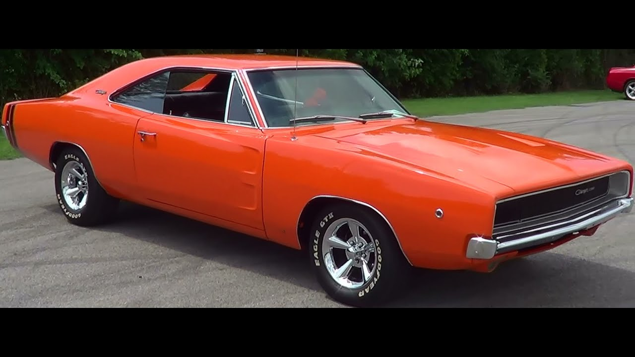 1968 Charger 383 Stroker Youtube
