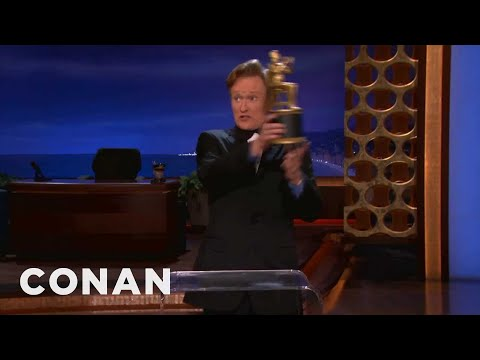 Conan Audiencey Awards For September 27, 2012  - CONAN on TBS