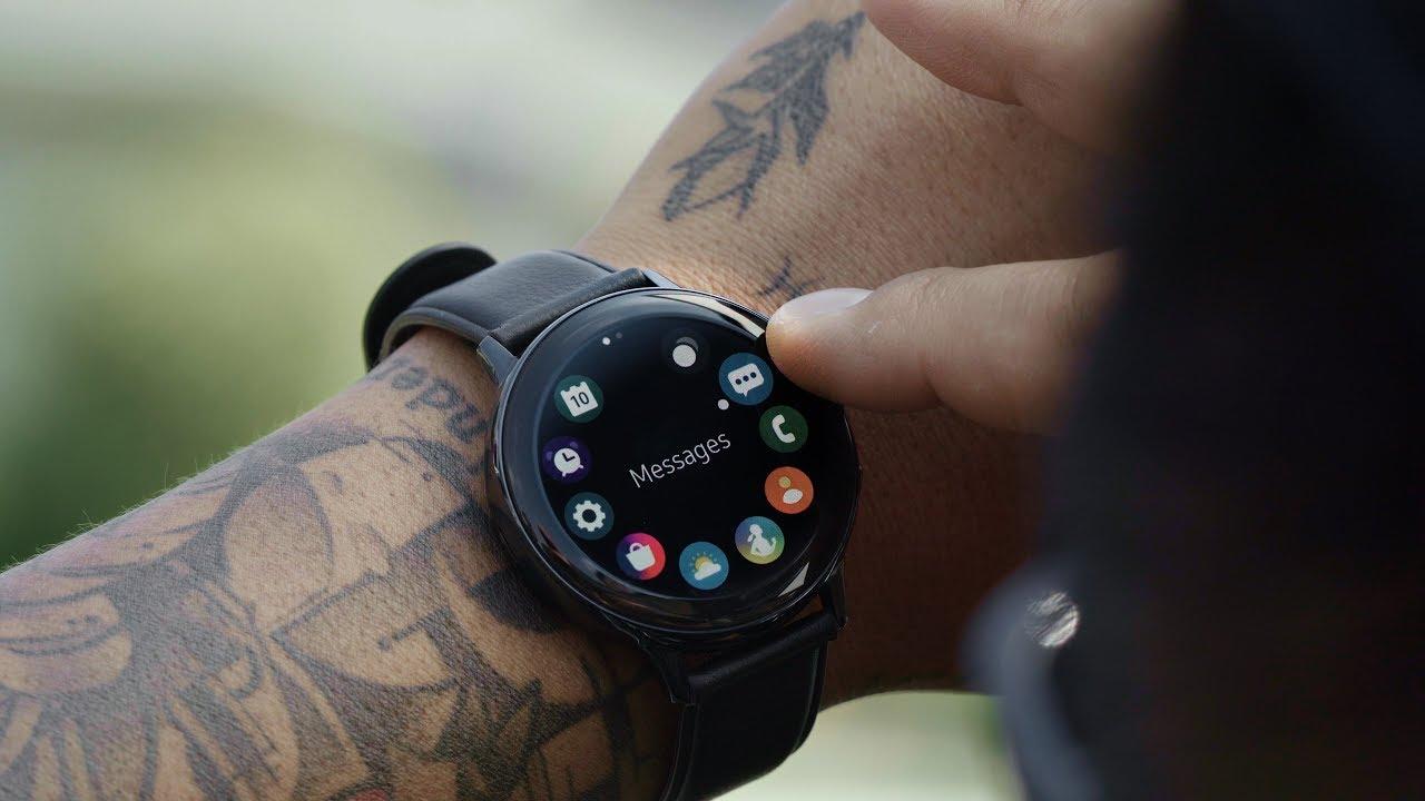 Samsung Galaxy Watch Active2 Rm820 44mm Aqua Black Gps Wifi | Mercado Libre