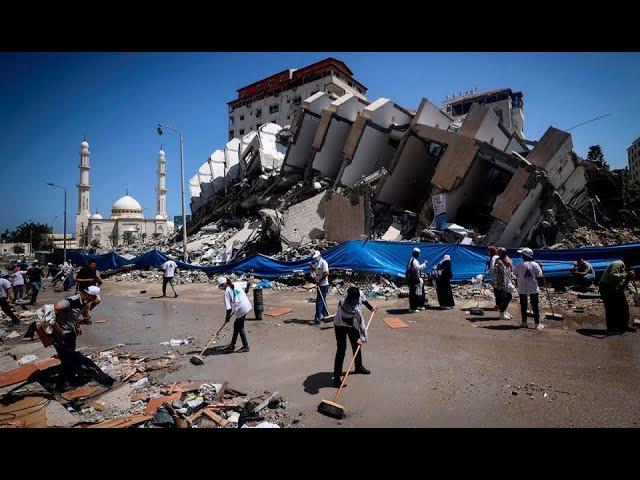 Israel busca  apuntalar el alto el fuego en Gaza