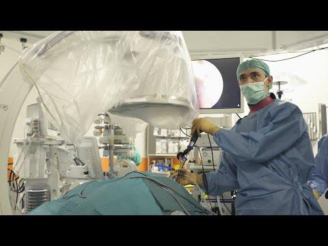 Перкутанная нефролитотрипсия. Минимально инвазивная операция по разрушению камней почки.