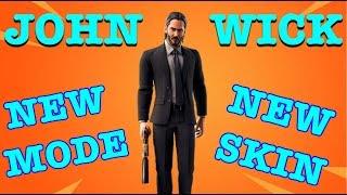 FORTNITE LIVE gameplay / NEW JOHN WICK SKIN ET GAME MODE / #livestream #Fortnite #PS4