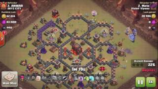 Clash of Clans TH10 Mass Bowler GoBo 3 STAR ATTACK