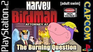 Harvey birdman: attorney at law (ps2) episode 1: the burning question