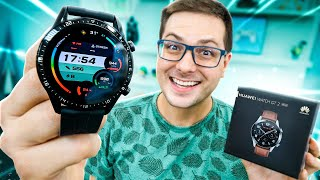 Huawei Watch Gt 2!  O Melhor Smartwatch Da Huawei No Brasil! Unboxing!